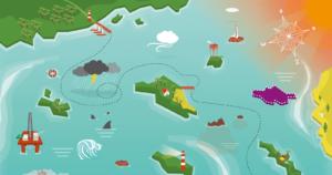 Kracht van Verschil Zeekaart